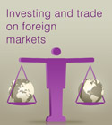 Investing and trade on foreign markets