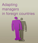 Adapting managers in foreign countries